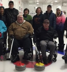 Adaptive Curling Team